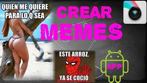 Como Hacer Un Meme Online - la mejor app para crear memes android 2015 2016 youtube