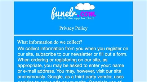 Privacy And Terms Of Use Template Web Application Pinterest Privacy And Terms Of Use Template