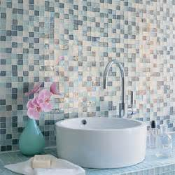 mosaic tile vanity wall bathroom tile ideas sunset