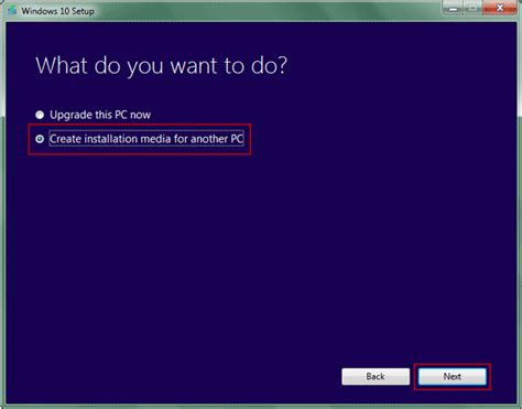how to create a windows 10 8 7 installation media with