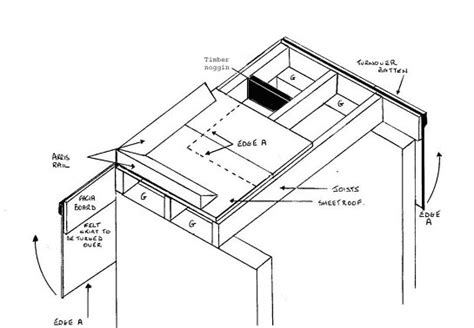 flat roof construction diagram roof diagram shed roof diagram shed free image about