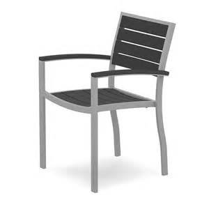 Aluminum Outdoor Dining Chairs Outdoor Dining Arm Chair Polywood High End Aluminum Outdoor Patio Chairs Blue