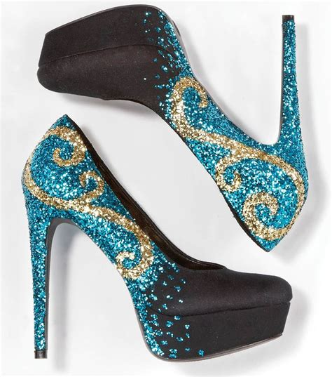 diy pumps shoes best 25 glitter shoes ideas on gold wedding