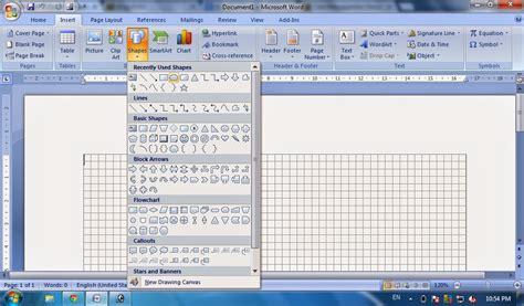 cara membuat storyboard dengan microsoft word empokman trik cara membuat bangun datar dengan gridlines