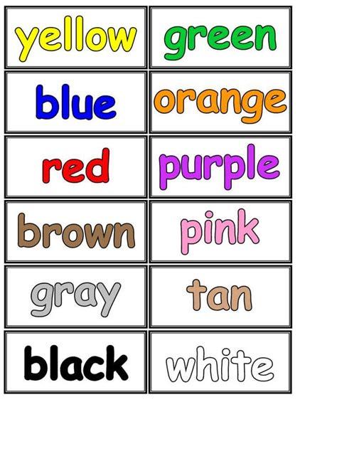 imagenes colores ingles m 225 s de 25 ideas fant 225 sticas sobre colores en ingles en