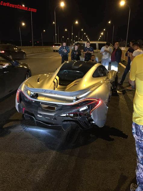 mclaren p1 crash mclaren p1 crashes in china carnewschina com