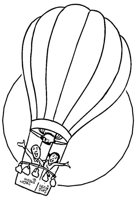 balloons coloring pages preschool preschool kids hot air balloon coloring pages coloring sky