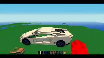 How To Build A Lamborghini Minecraft Lamborghini Aventador Model
