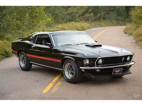 1969 ford mustang 428 cobra jet ram air for sale
