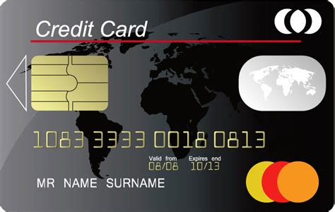 credit card template credit card vector templates