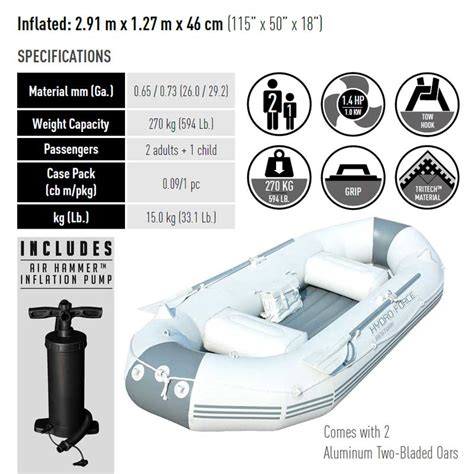 bestway hydro force marine pro inflatable boat bestway inflatable boat hydro force marine pro 2 91m x 1