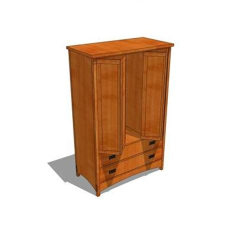 arts and crafts armoire arts and crafts armoire 3d model formfonts 3d models