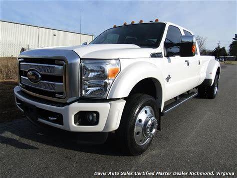 2015 ford f 450 platinum 2015 ford f 450 duty platinum pearl white diesel 4x4