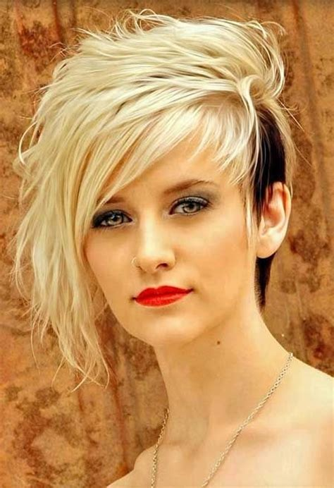 black womens hair to platinum blonde 16 cool and edgy black blonde hairstyles pretty designs