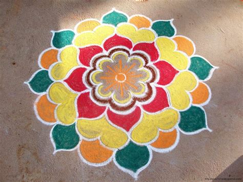 simple rangoli designs pooja room and rangoli designs
