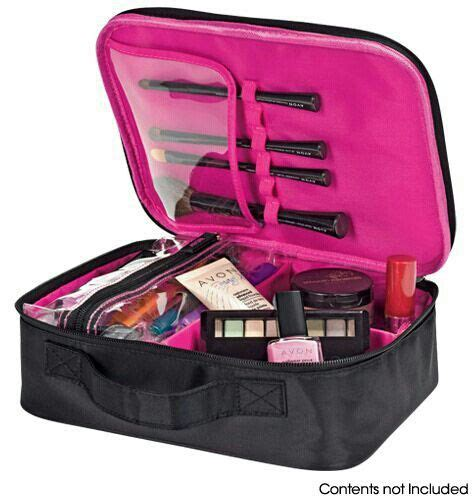 make up bag with sections make up bag products pinterest