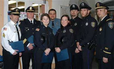 Tewksbury Safety Personnel Receive Commendations
