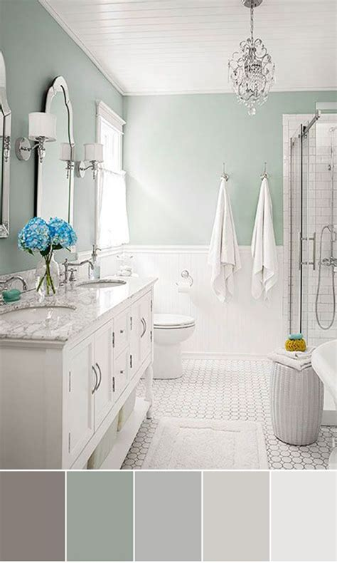 gray bathroom color schemes with color schemes for