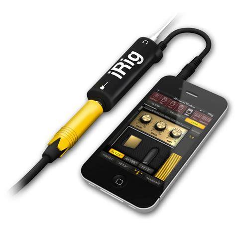 ik multimedia amplitube irig guitar interface adaptor  ios devices price dicebg