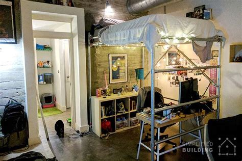 how to build a size loft bed with desk diy size loft bed for adults with plans to build