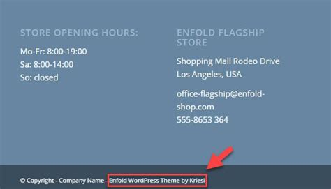 enfold theme footer how to remove enfold wordpress theme by kriesi in the
