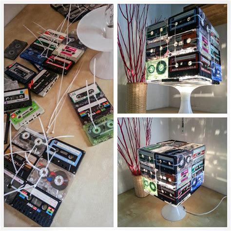 cassette musicali riciclo creativo audio cassetta 14 idee a cui ispirarsi