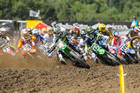 professional motocross racing lucas pro motocross race recap results unadilla