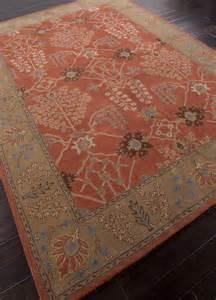 Orange Runner Rug Jaipur Rugs Transitional Pattern And Orange Wool Tufted Runner Rug Pm51