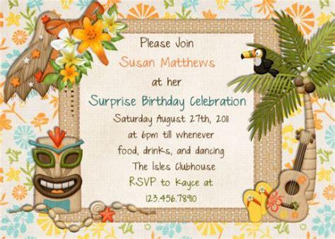 hawaiian themed invitations festa havaiana decora 231 227 o detalhes e 60 ideias