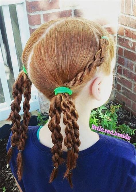 braided hairstyles pigtails 20 amazing braided pigtail styles for girls