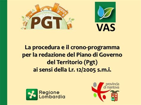 procedura vas presentazione procedura pgt