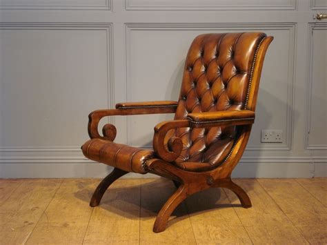 slipper armchair sold antique leather lounge or slipper armchair antique chairs