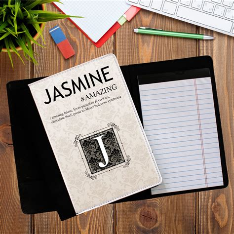 design notepad meaning personalised any name dictionary definition notebook