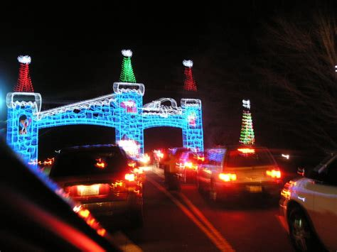panoramio photo of tanglewood park christmas lights 2008