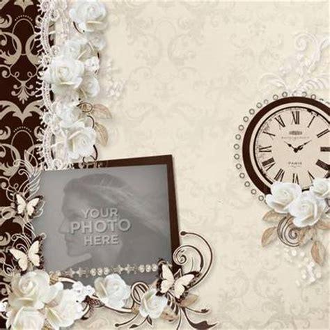 digital scrapbooking kits elegant template love