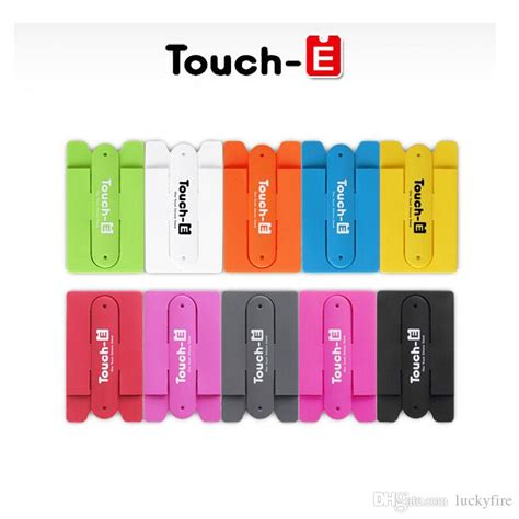One Touch U Silicone Card Back Phone Holderpenyangga Hp Hijau 2017 3m Sticker Touch One U Silicone Wallet Back Credit