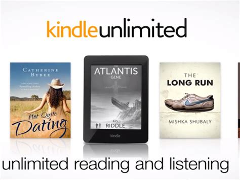 amazon unlimited amazon kindle unlimited now official lets you read to