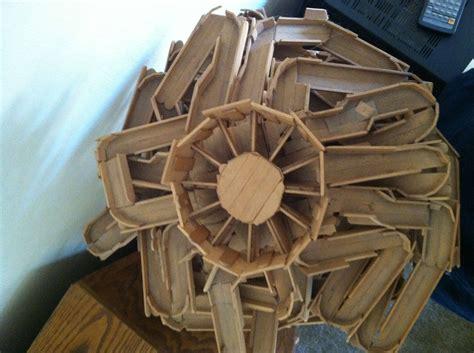 imgur over 40 my dad built this popsicle stick quot marble machine quot over 40