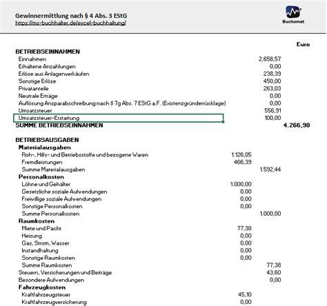 Muster Rechnung Vermietung Einnahmen 252 Berschussrechnung Und Software