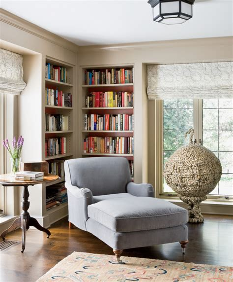 reading nook in living room a revived bethesda home boasts an eco friendly design luxe source carpentry details