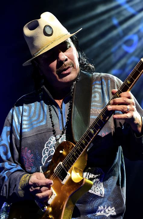 Carlos Santana musikfest to kick with scorchin performance by the