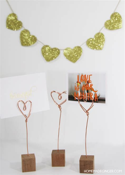 copper wire craft projects s crafts copper wire photo holders