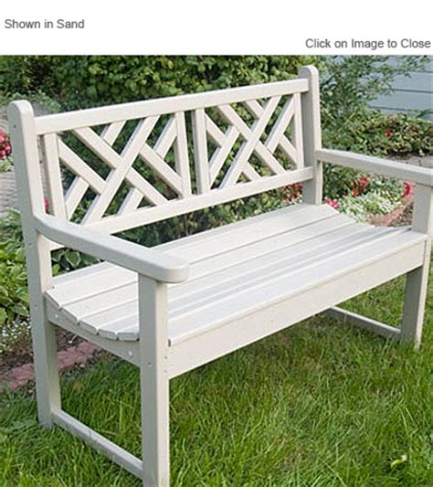 polywood benches outdoor polywoodfurniture com gt polywood 174 cdb48 chippendale garden