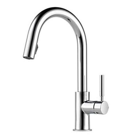 brizo faucets kitchen brizo 63020lf pc solna single handle pull kitchen
