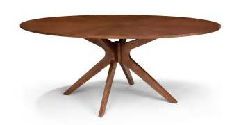 Oval Tables Dining Conan Oval Dining Table Wood Tables Bryght Modern Mid Century And Scandinavian Furniture