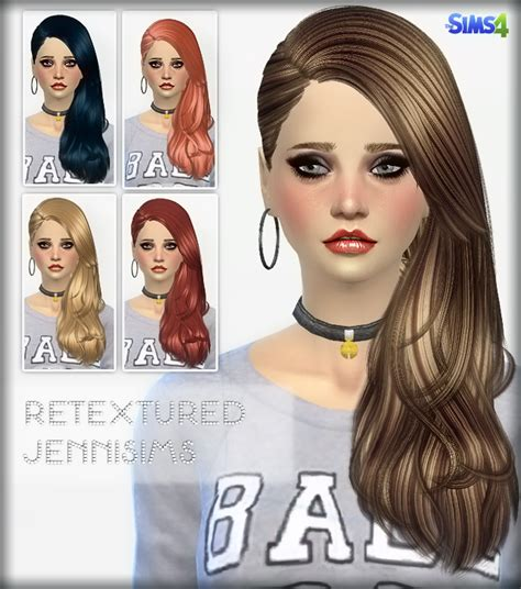 jennisims downloads sims 4 new mesh accessory hair bow jennisims downloads sims 4 elasims converted hairs