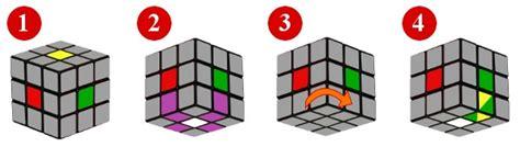 tutorial cubo rubik paso a paso paso 1 aristas de la primera cara del cubo de rubik