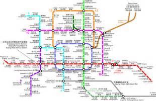 Beijing Subway Map Beijing Subway Map