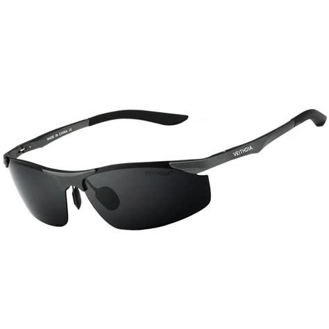veithdia kacamata pria uv polarized 6529 black jakartanotebook