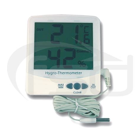Thermometer Electronic jumbo electronic max min thermometer hygrometer